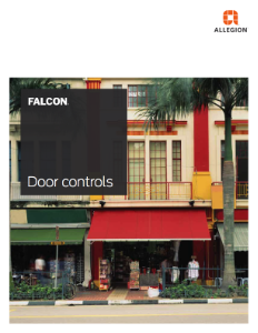 Falcon Door Controls Catalog