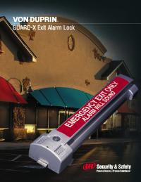 Von Duprin Guard-X Alarm Lock