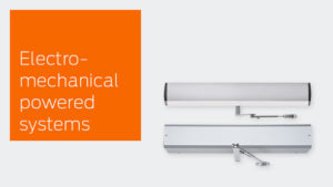View the LCN Electromechanical Powered Systems product line.