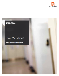 Falcon 24 Series and 25 Series Touch Bar Exit Devices