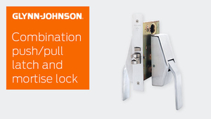 Combination Push/Pull Latch & Mortise Lock
