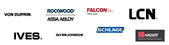 We offer these market leading brands!