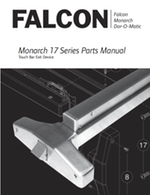 Falcon Dor O Matic Exit Devices Parts Amp Service Manuals