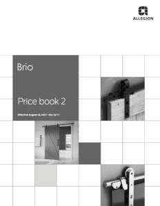 Brio Price Book