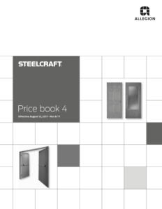 Steelcraft Price Book