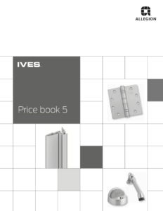 Ives Price Book